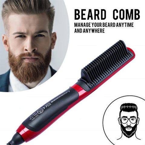 Beard Fast Smooth Comb Straightener