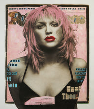 "Load image into Gallery viewer, Courtney Love on Pink - 42"" x 54"""