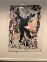 "Load image into Gallery viewer, Wheat Paste Punk - 56"" x 74"""