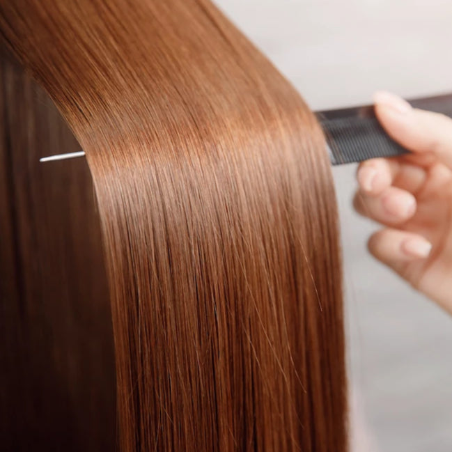 Keratin Treatment + Hair Health Dusting Package