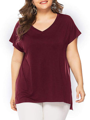 women shirts burgundy