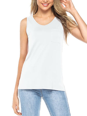 white tank tops for women