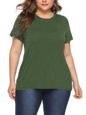 ladies army green top