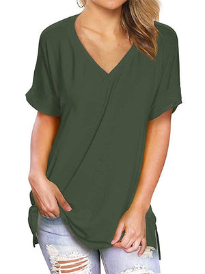 women short sleeve tops