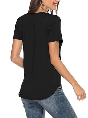 black criss cross women tops