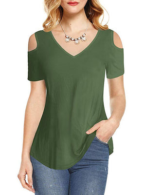 cold shoulder tops for women