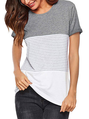 women's summer gray tops
