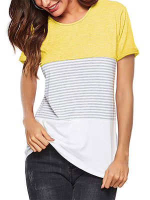 women's summer  yellow tops