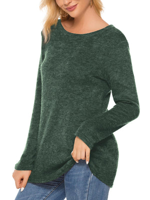 Long Sleeve Pullover Knit Sweater
