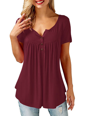 Burgundy Tops for Women