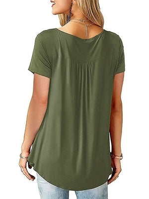 Olive Green Shirts and Blouses
