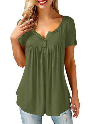 Olive Green Women Shirt
