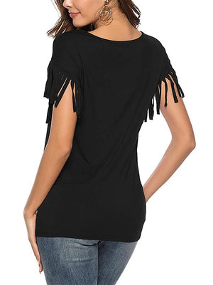 Womens T Shirts Black