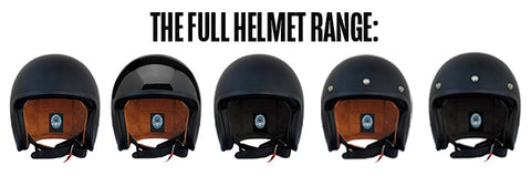 The Full Helmet Range
