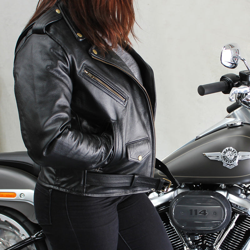 Women's Savannah Leather Jacket