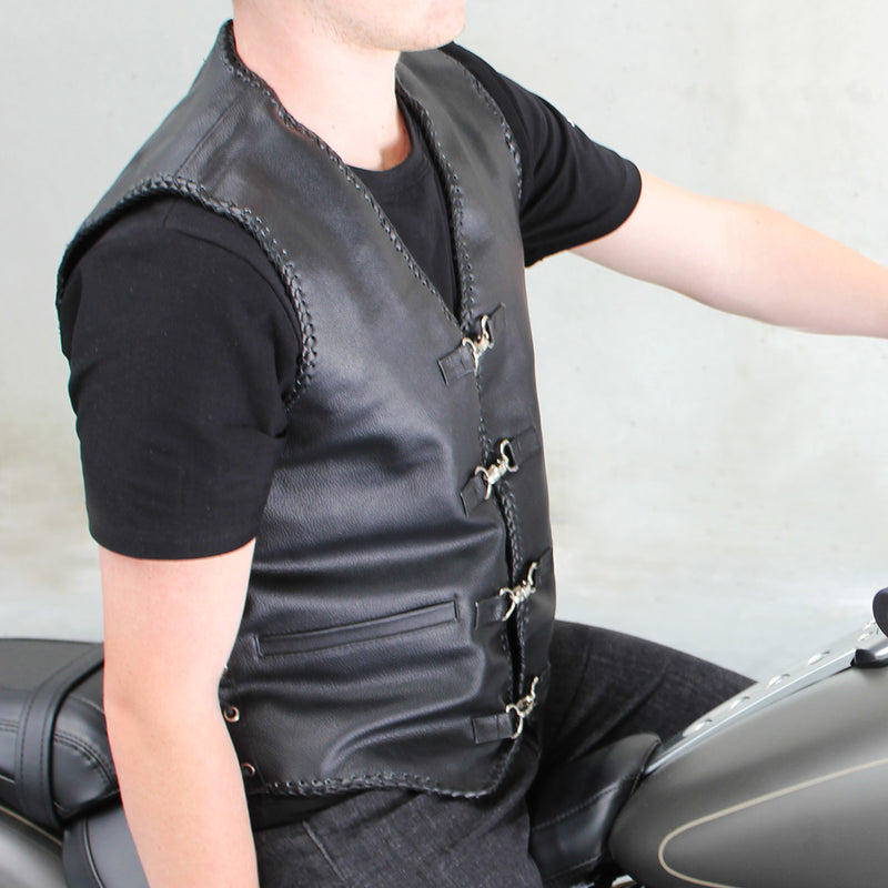 Men's Capricorn Leather Vest
