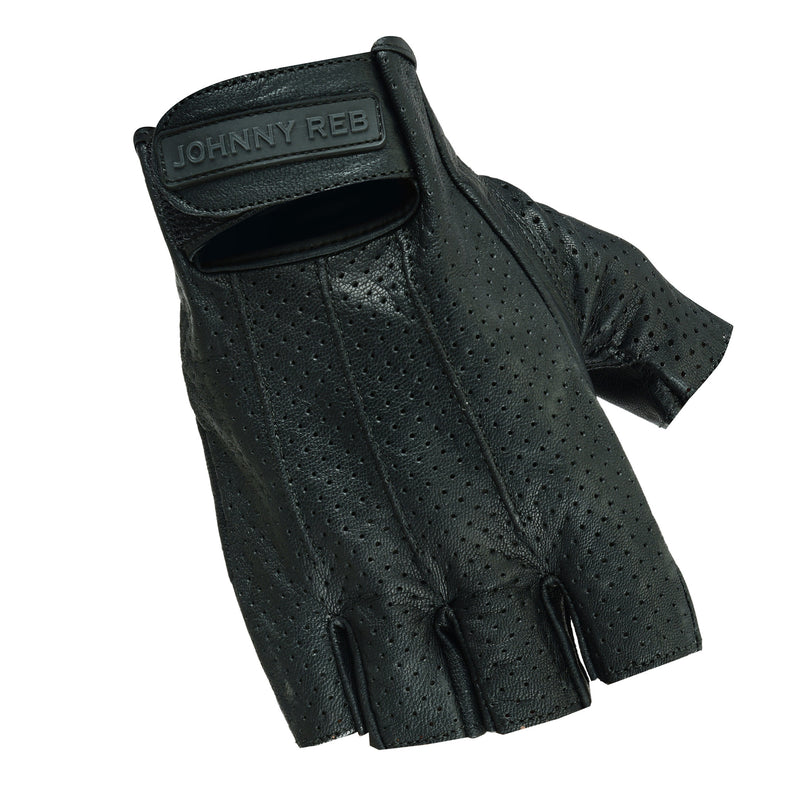 Sandover Perforated Fingerless Gloves