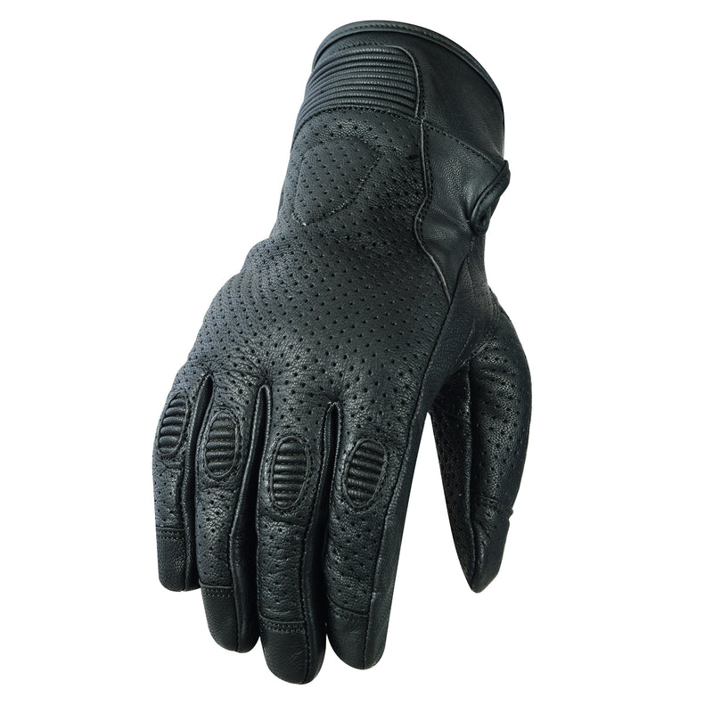 Summerland Perforated Leather Gloves