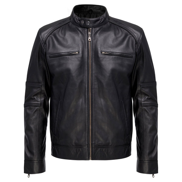 Men's Buckets Way Leather Jacket