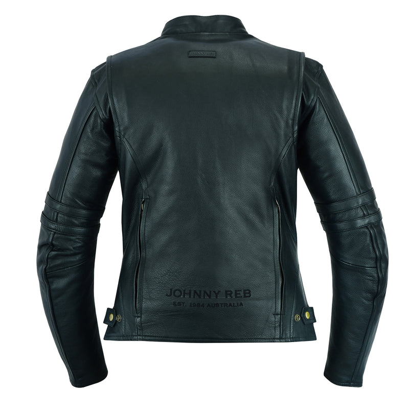 Women's Hawkebury Leather Jacket | Removable Hood