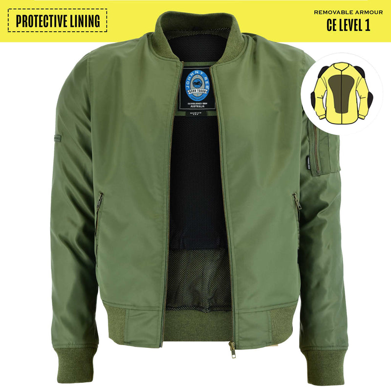 Men's Protective Bomber Jacket