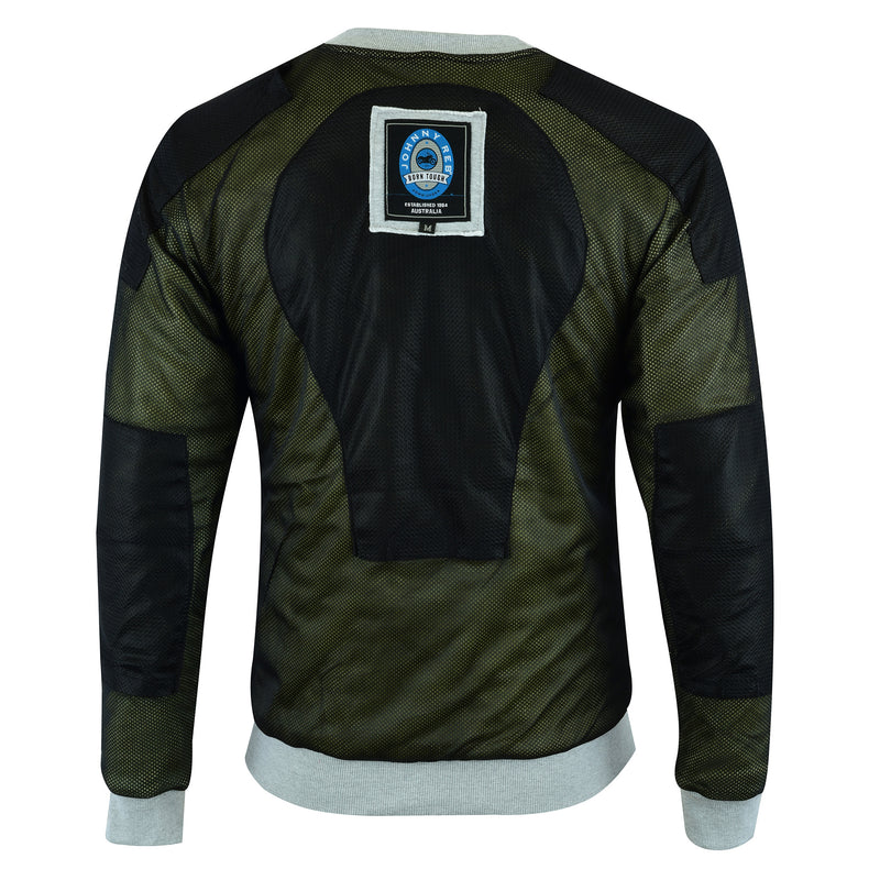 Men's Hume Protective Fleece Crew | Dupont™ Kevlar® lined