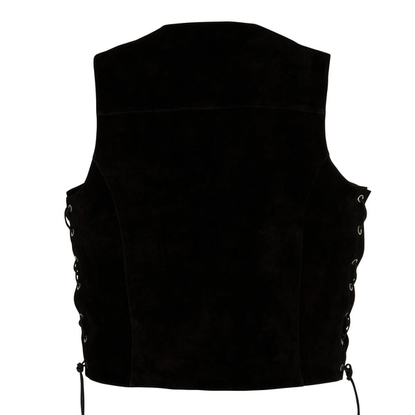 Men's Longreach Suede Vest