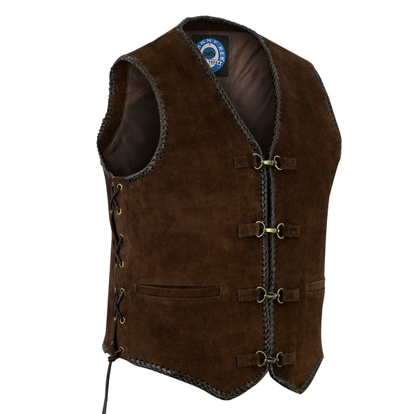 Men's Gillies Suede Vest