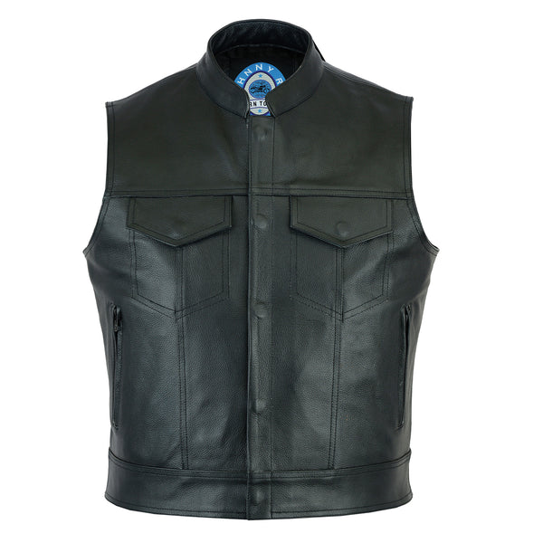 Men's Pacific Leather Vest