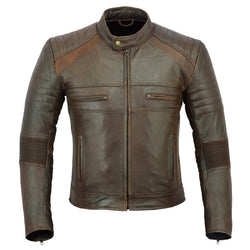 Men's Botany Vintage Leather Jacket