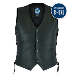 Men's Plenty Leather Vest