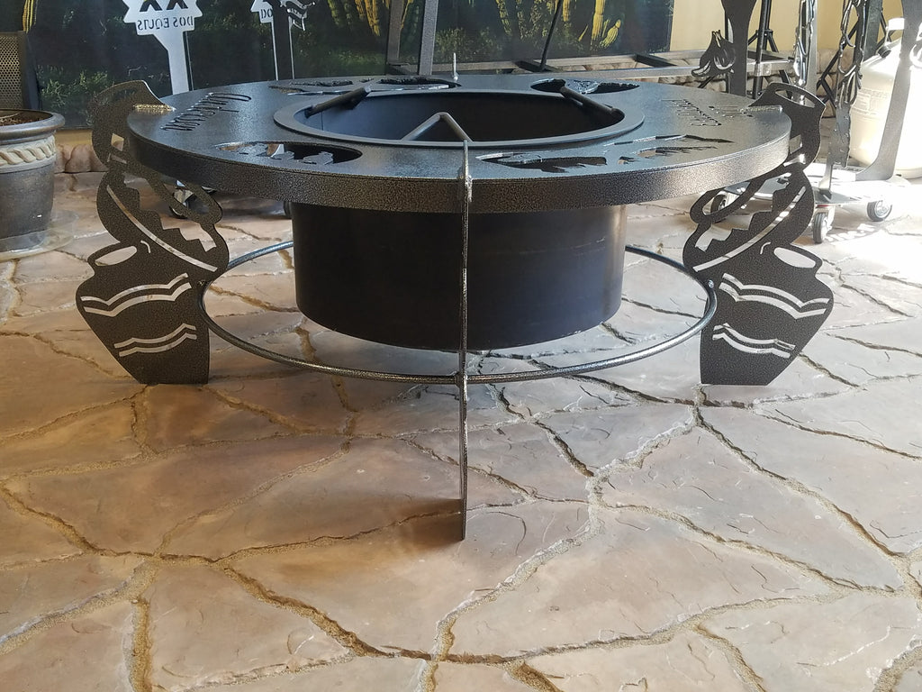 Firepit - Custom Made Outdoor Backyard Wood Burning Firepits