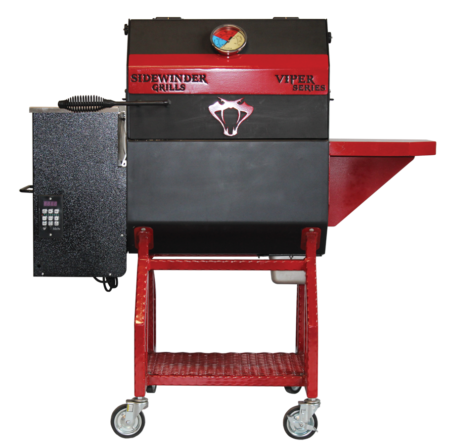 Viper Series Pellet Fed Smoker and Wood Fired Grill
