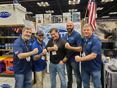 ICEY-TEK USA Coolers supports Navy SEAL FUND Thomas Dzerian with ICEY-TEK CEO Patrick Mudge