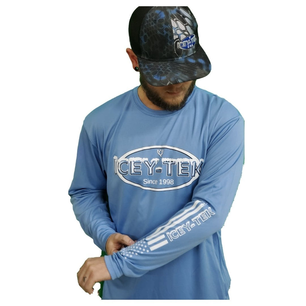 ICEY-TEK Performance Shirt - Light Blue