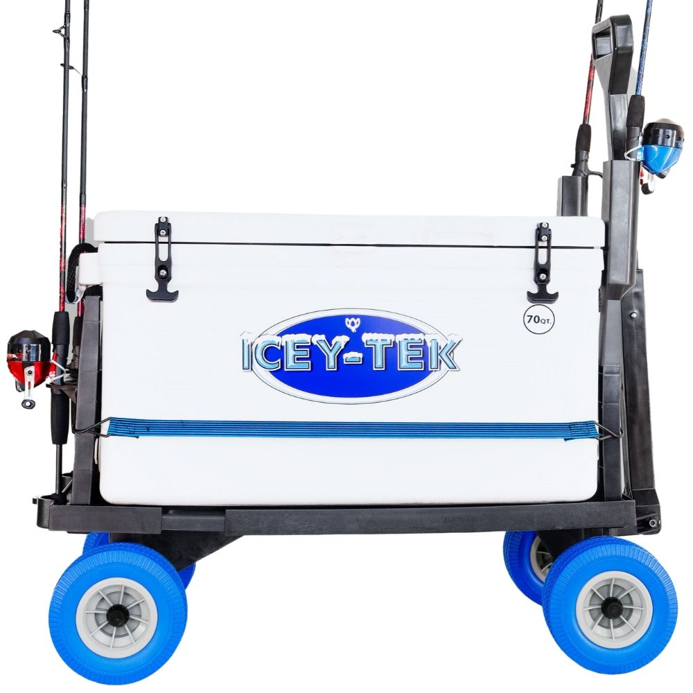 Cooler Caddy and Fishing Cart by MIGHTY MAX CART