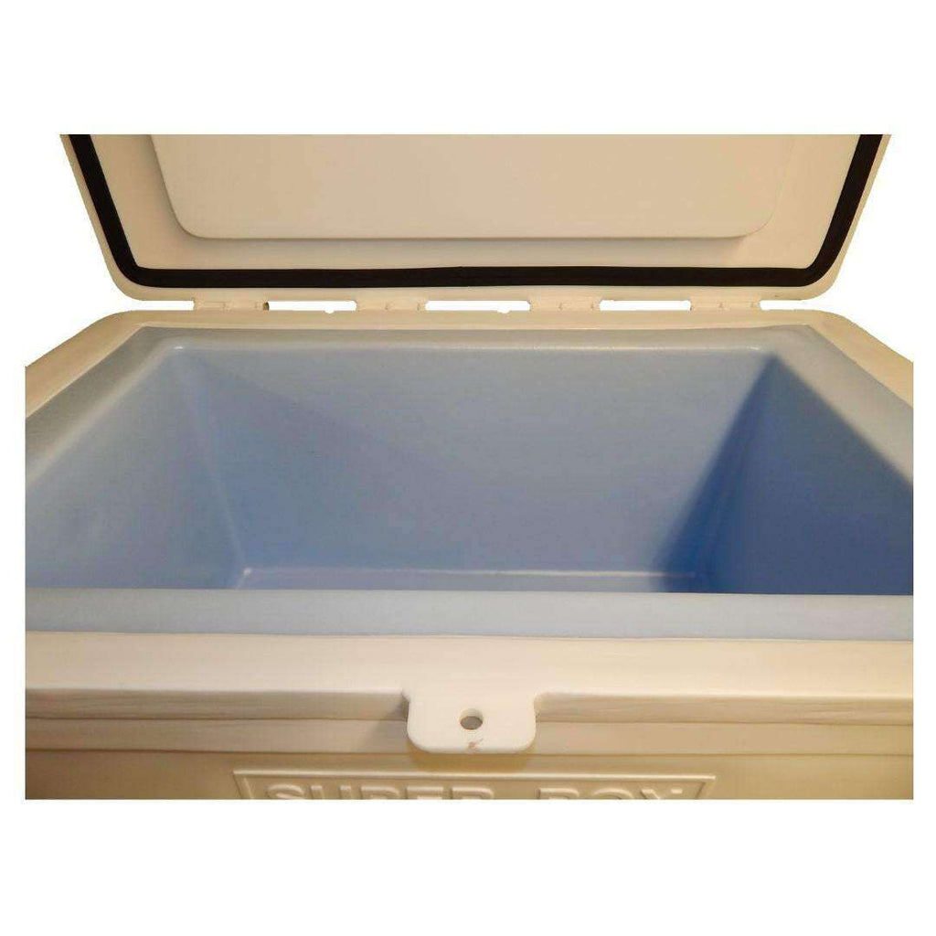 "ICEY-TEK Classic 120 Quart ""SUPER BOX Limited Edition"" Roto-Molded Cooler - Used by NASA Inside View"