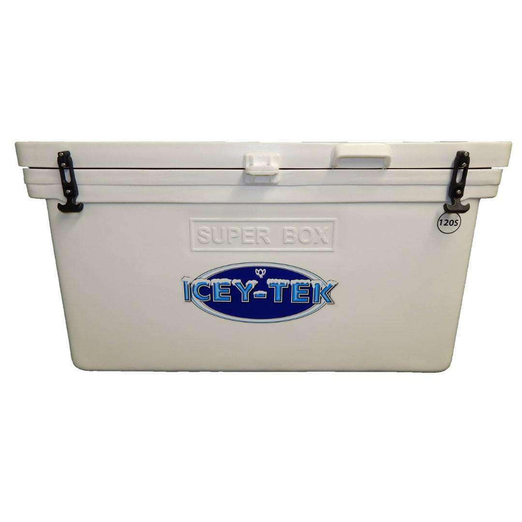 "ICEY-TEK Classic 120 Quart ""SUPER BOX Limited Edition"" Roto-Molded Cooler - Used by NASA"