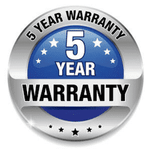 Image of 5 Years Warranty