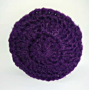 Plum Purple Nylon Dish Scrubbies