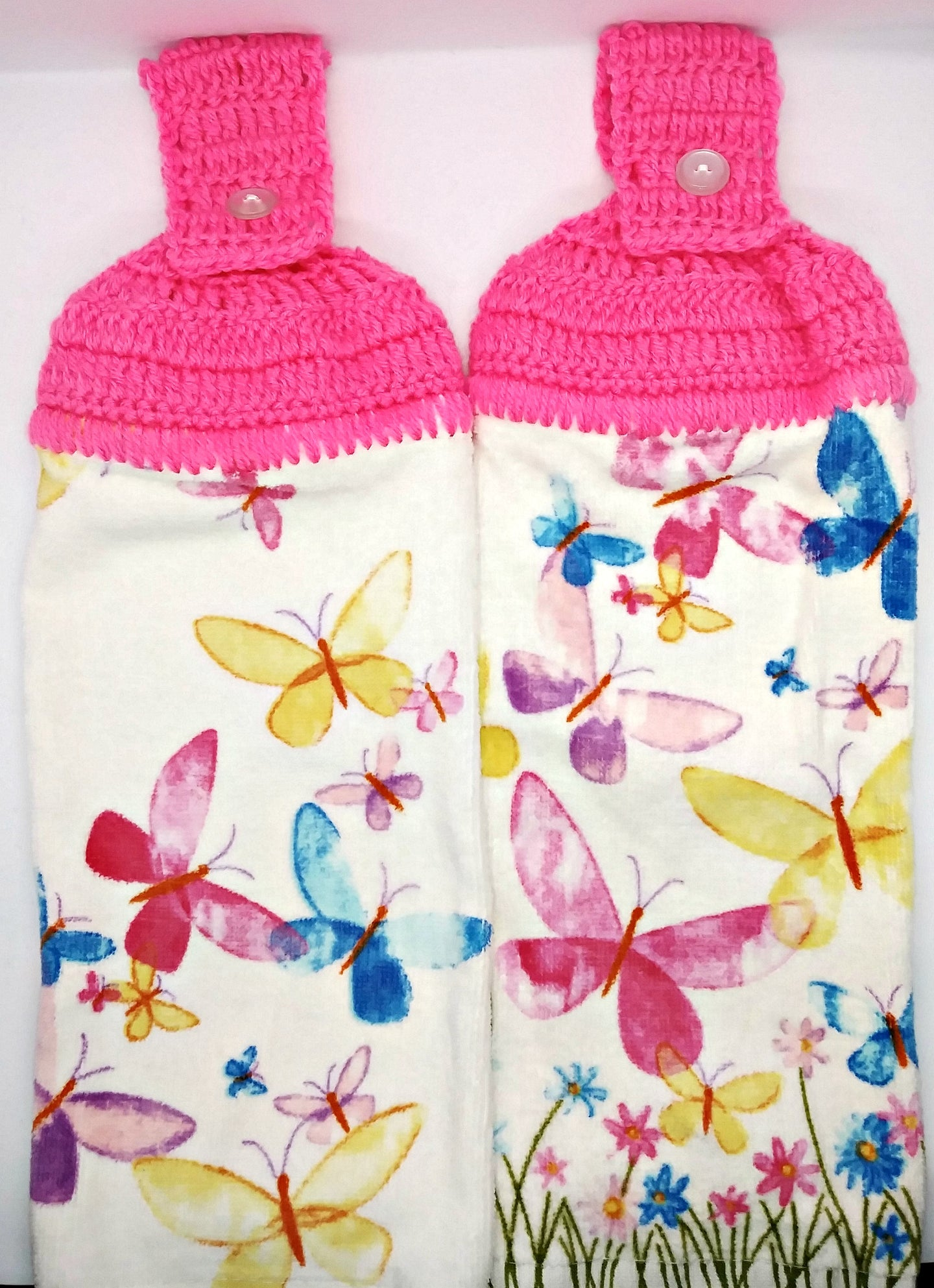 Butterflies Hanging Kitchen Towel Set