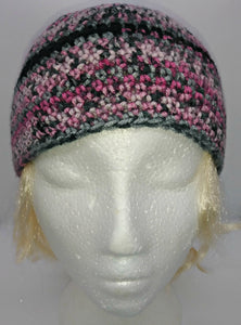 Pink, Gray Black Basic Winter Beanie Ladies Teen Hat