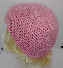 Load image into Gallery viewer, Pink Glitter Basic Winter Beanie Ladies Teen Hat