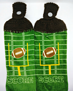 Score Football Hanging Kitchen Towel Set