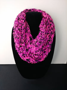 Pink Panther Winter Infinity Scarf Cowl