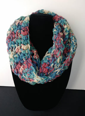 Fall Rust Greens Infinity Scarf Cowl