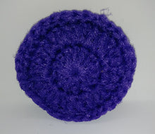 Load image into Gallery viewer, Dark Lavender Purple Nylon Dish Scrubbies