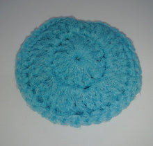 Load image into Gallery viewer, Dusty Light Blue Nylon Dish Scrubbies