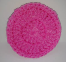 Load image into Gallery viewer, Bright Pink Nylon Dish Scrubbies