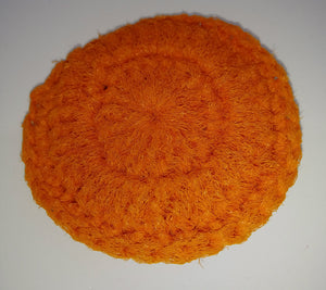 Dark Orange Nylon Dish Scrubbies